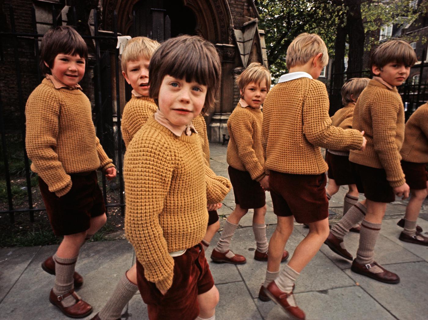 e846cb96cd The British schoolboy look, circa 1972