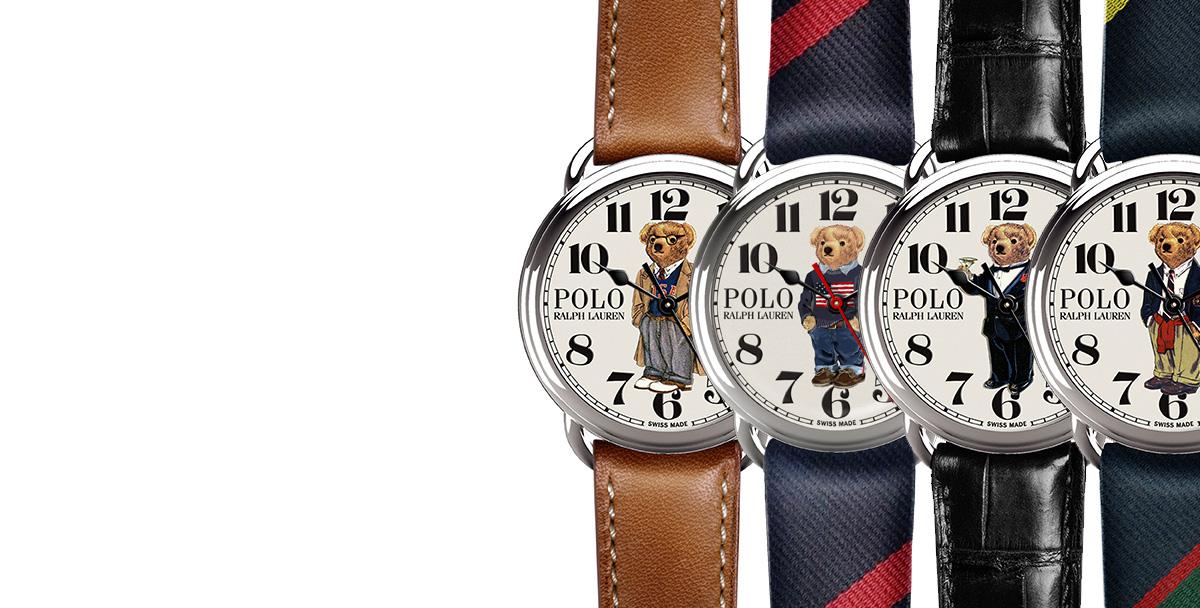 3afe129d0d00 La collection de montres Polo Bear
