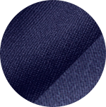 Swatch of navy Performance fabric