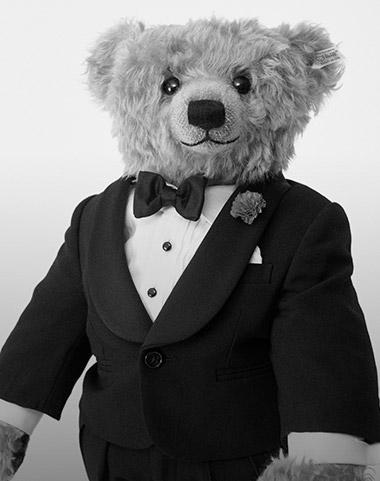 b7e68669b Photograph of Polo Bear in tartan suit