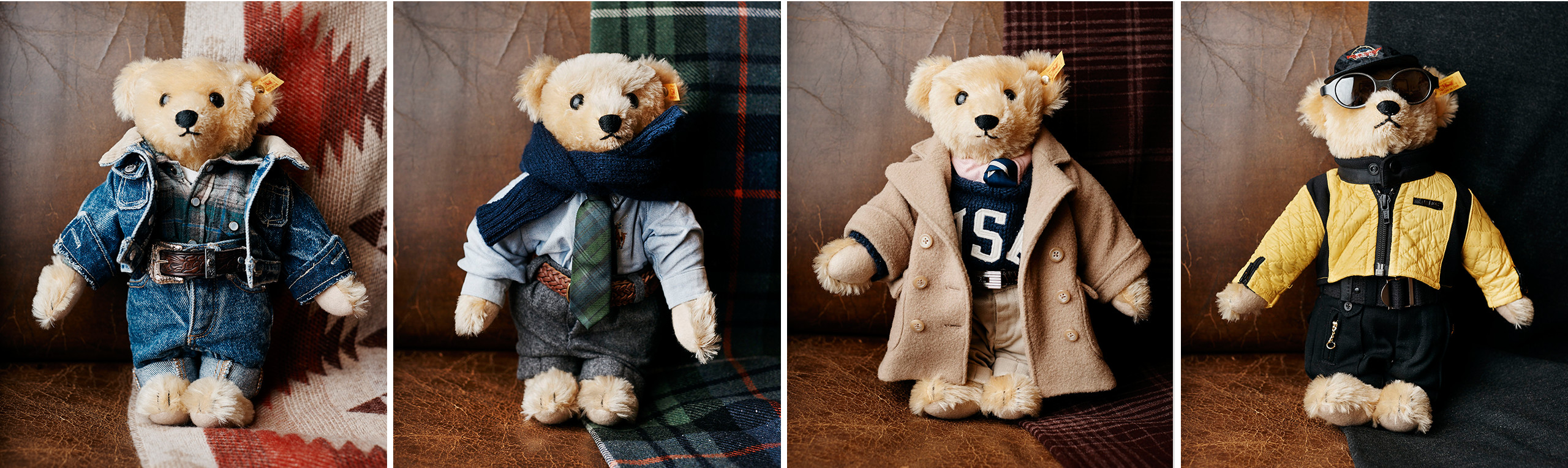dc7943b02a1219 Jerry Lauren, le directeur de la création des collections hommes et frère de  Ralph, est un collectionneur passionné d oursons Steiff.