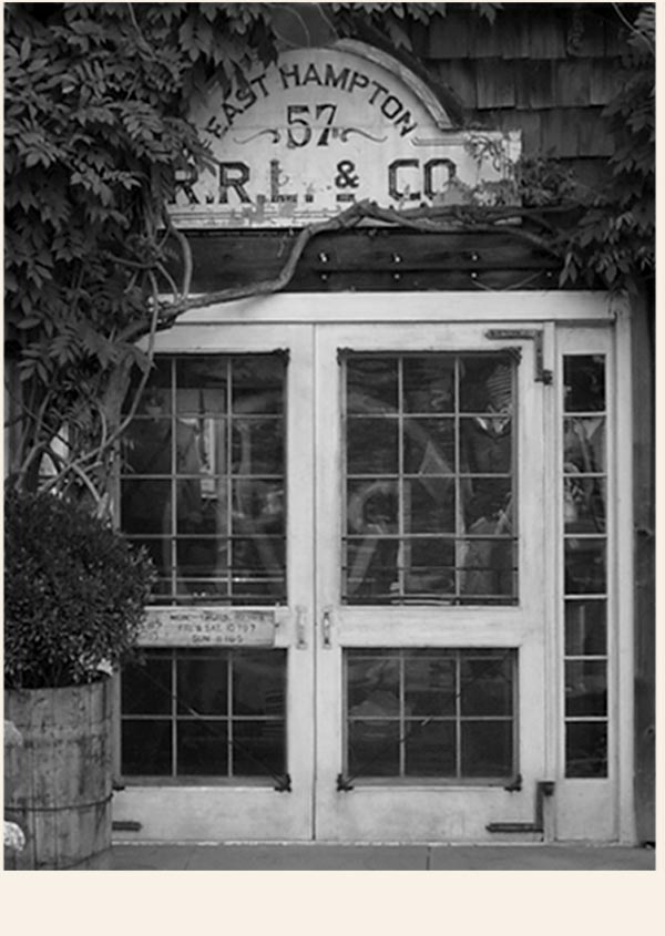 Photograph of Double RL storefront