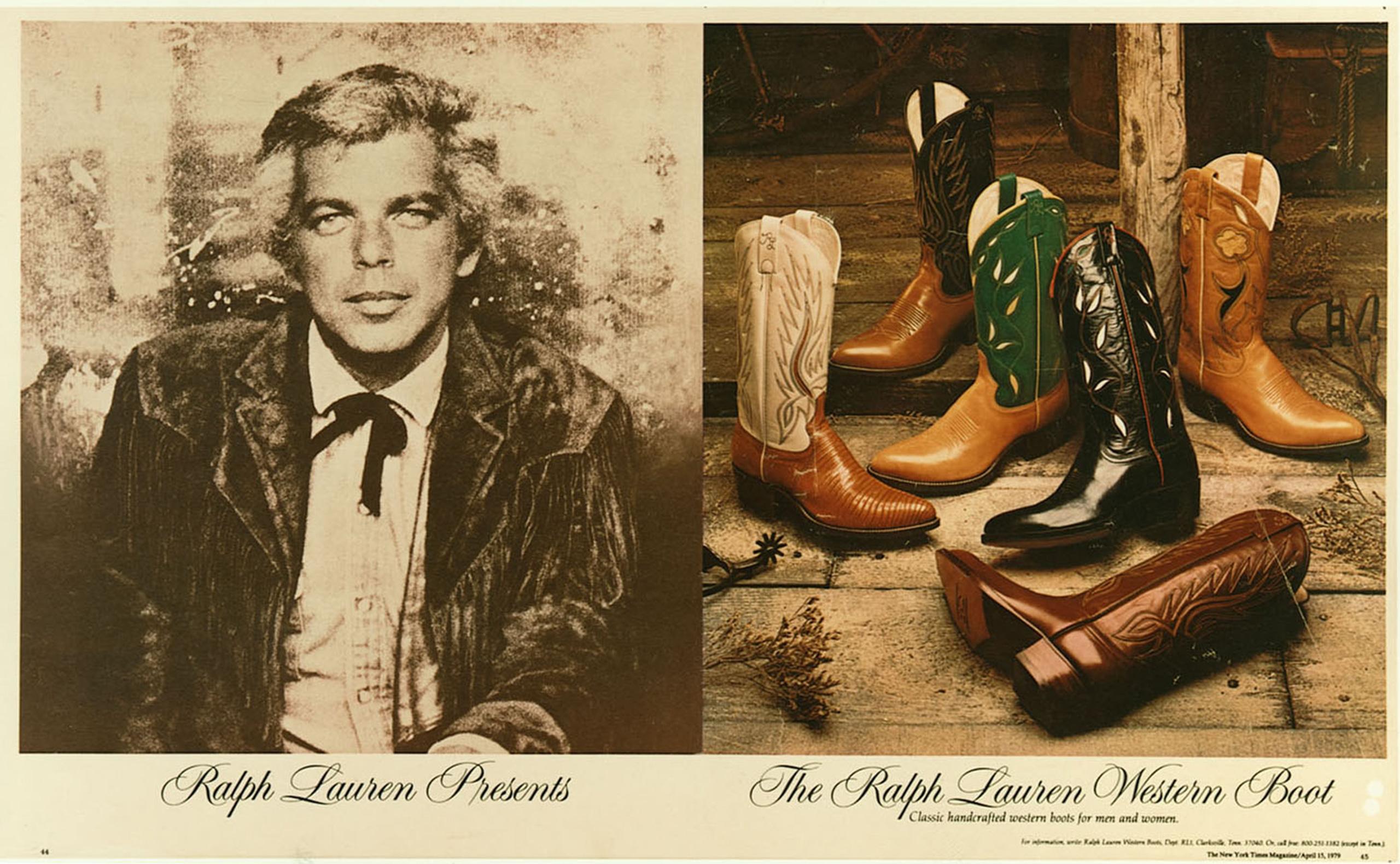 Polo Western était avant tout une marque de denim, dans la tradition du  style workwear américain — un denim authentique, confortable et intemporel  aux ... 6dc273241c6f