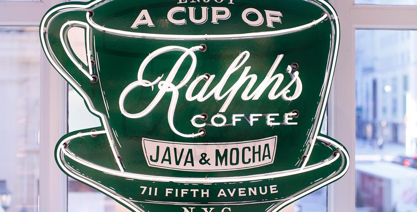 Un nouveau café est né. L ouverture du tout premier café Ralph Lauren ... 5ea253a28406